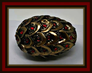 Jeweled Dragon Egg, Polymer Clay