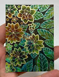 ACEO Tropical Garden