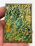 ACEO Tropical Leaves