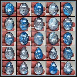 Blue and Silver Cabs May 2021