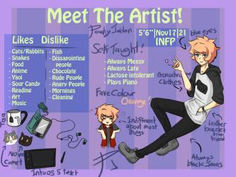 Meet The Artist! - PeachyJordan by PeachyJordan