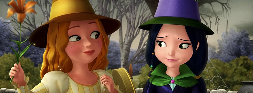 Lily and Lucinda (from Sofia the First) by Niagara14301