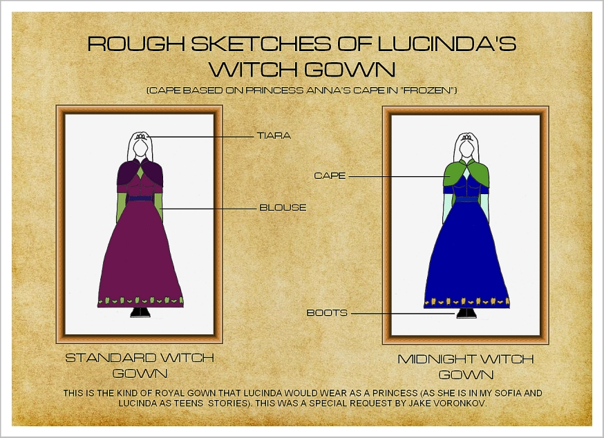 Lucinda's Witch Gown by Niagara14301