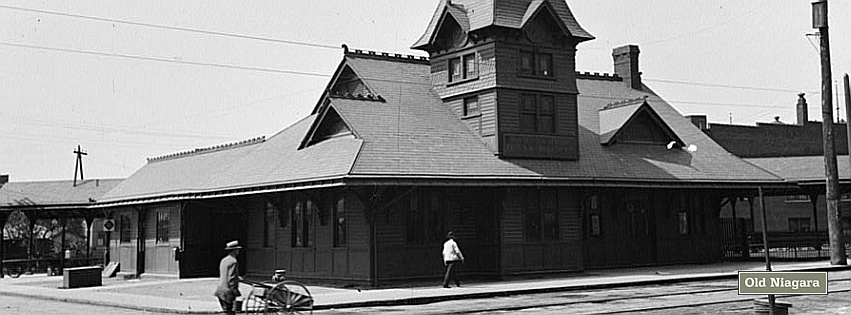 Erie Railroad Station (early 1900s) by Niagara14301