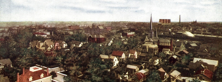 Bird's Eye View of Niagara Falls NY (early 1900s) by Niagara14301