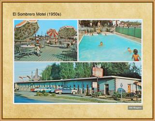 El Sombrero Motel (1950s) by Niagara14301