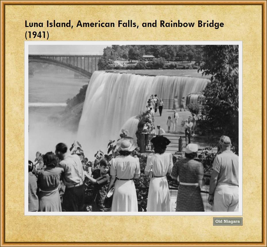 Luna Island, American Falls, and Rainbow Bridge by Niagara14301