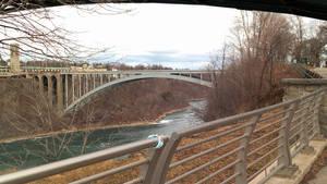 Rainbow Bridge and Niagara Gorge