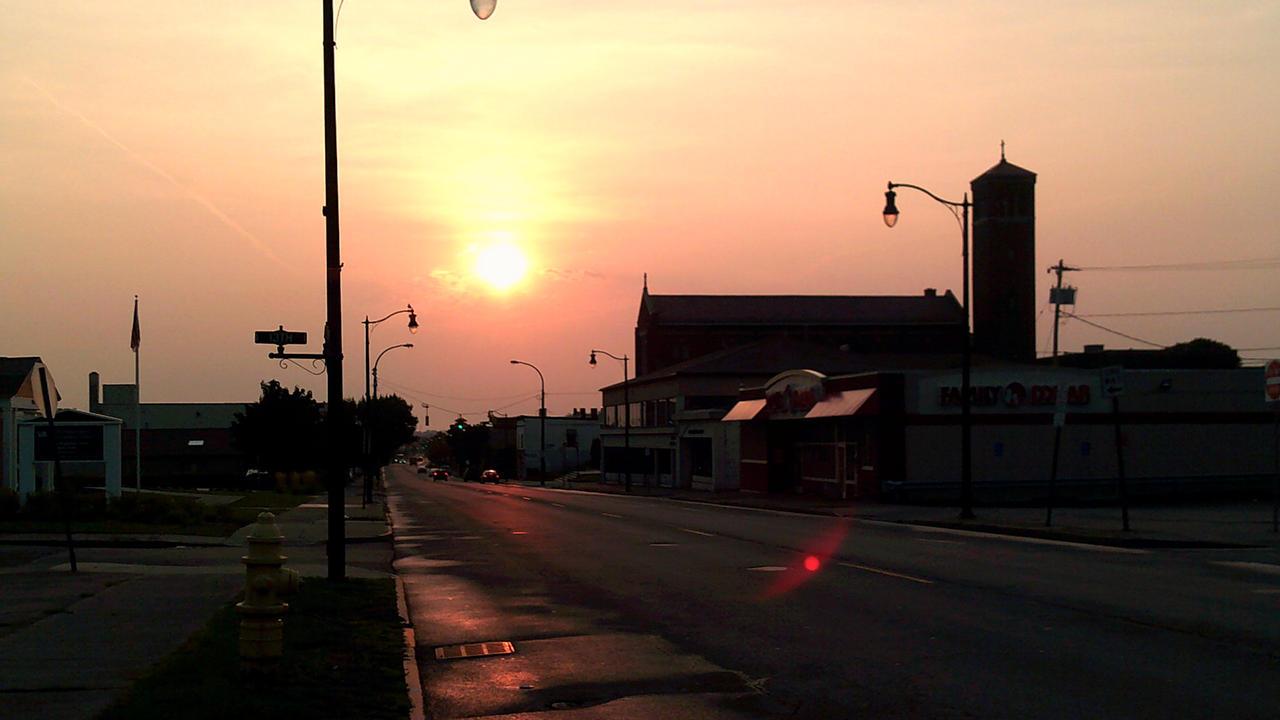 Pine Avenue Sunrise