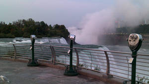 Daybreak at Niagara Falls