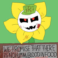 Distorted!tale Flowey by RavageSans