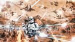 Starr Wars: Battle of Geonosis Frontline