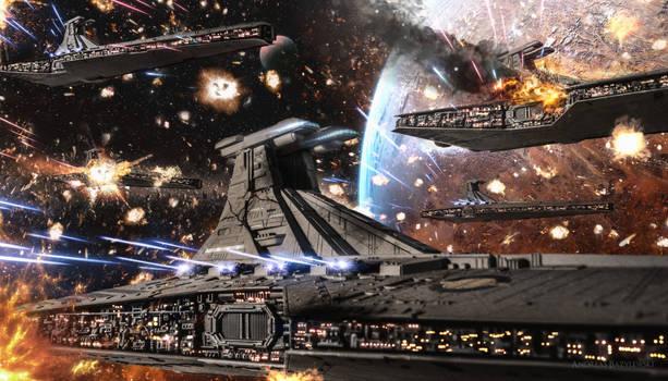 Clone Wars: Republic Venator Fleet