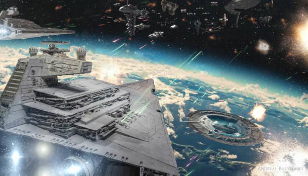 Rogue One: Battle of Scarif by TDSOD