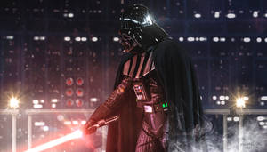 It is useless to resist! - Darth Vader Wallpaper
