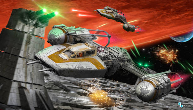 Star Wars: Battle of Yavin - Y-Wing attack