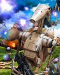 Star Wars - B1 Battle droid Naboo plains