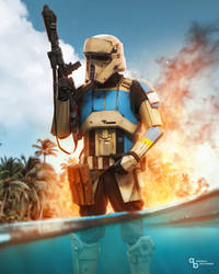 Star Wars - Shoretrooper Beach Inferno