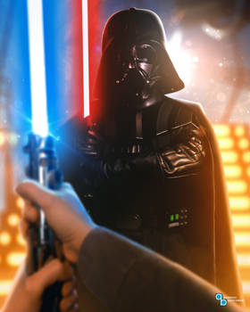 Star Wars - Luke faces Darth Vader