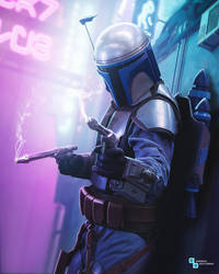 Star Wars - Jango Fett Coruscant Underworld