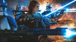 Star Wars - Anakin Skywalker and the 501st