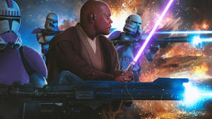 Star Wars The Clone Wars: Mace Windu and the 187th