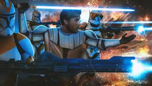 Star Wars: Obi-Wan Kenobi and the 212th (early CW)