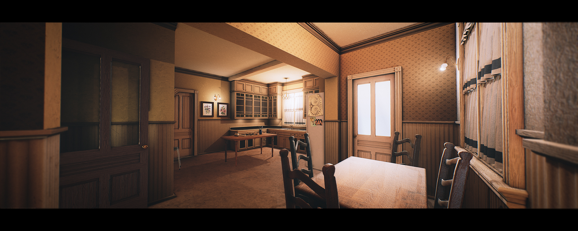 Charmed house halliwell manor polycount for Charmed house floor plan