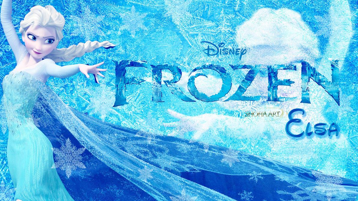 Elsa Of Disney Frozen Wallpaper By Shofia Kim13