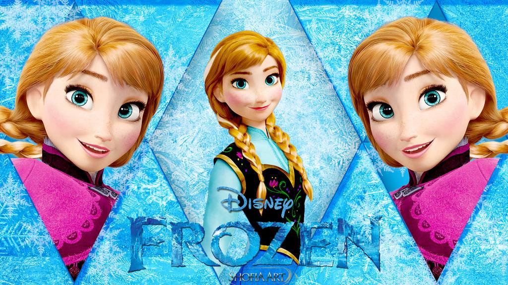 Anna Frozen Wallpaper 2 By Shofia Kim13