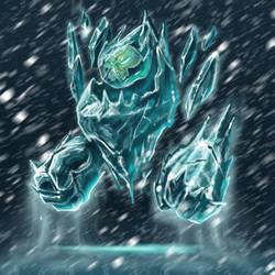Ice spirit by AdrienMTZ