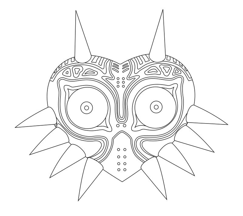 Majoras wrath coloring pages ~ Majora's Mask by MuffinSama on DeviantArt