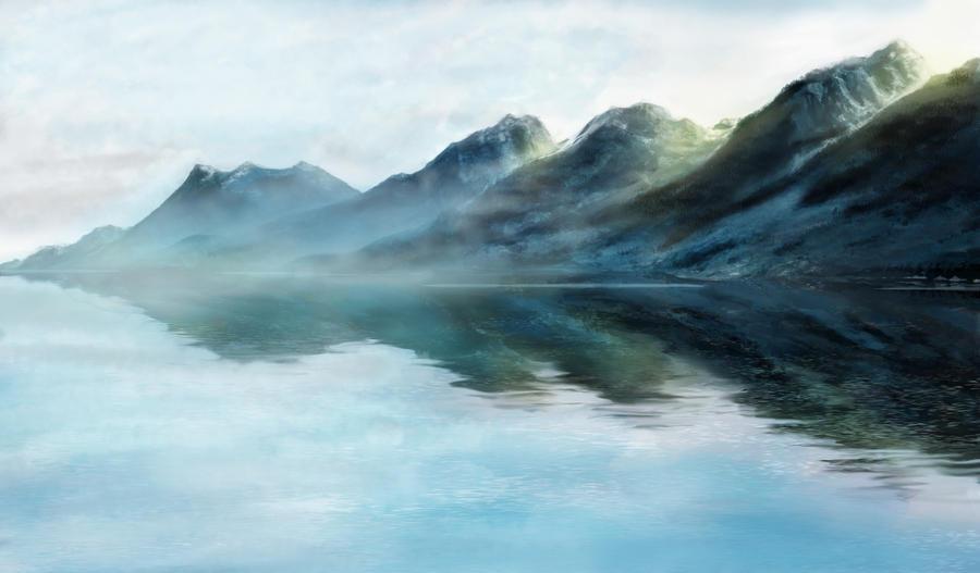 Mountain Vista by IanKid
