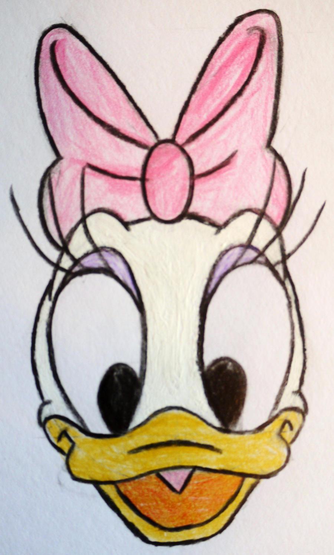 Daisy Duck Face Daisy Duck by Coolelly