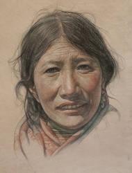 Portrait of Tibetan Aunt