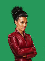 Martha Jones by luluha