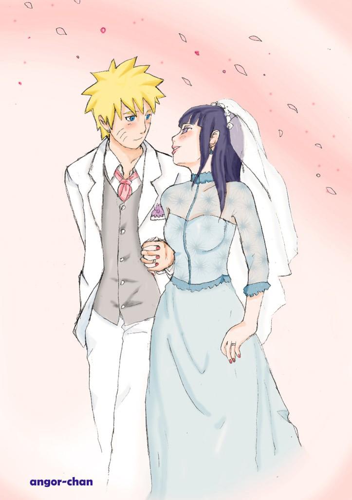 Komik naruto hinata wedding
