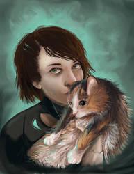 Amira and Jewlie by Yetinia