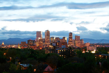 Downtown Denver HDR west view by designKase