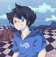John Egbert God-tier by BlooDinner