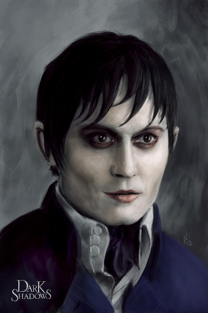 Barnabas Portrait by digitalartaficianado