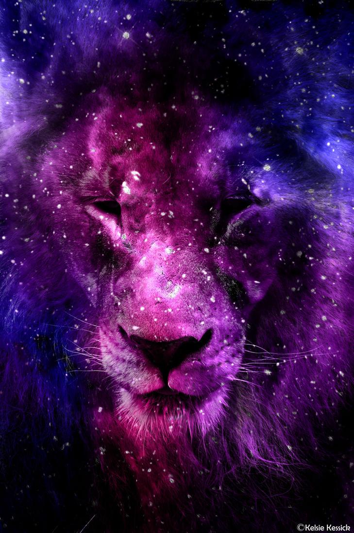 Galaxy Lion By Kmkessick On DeviantArt