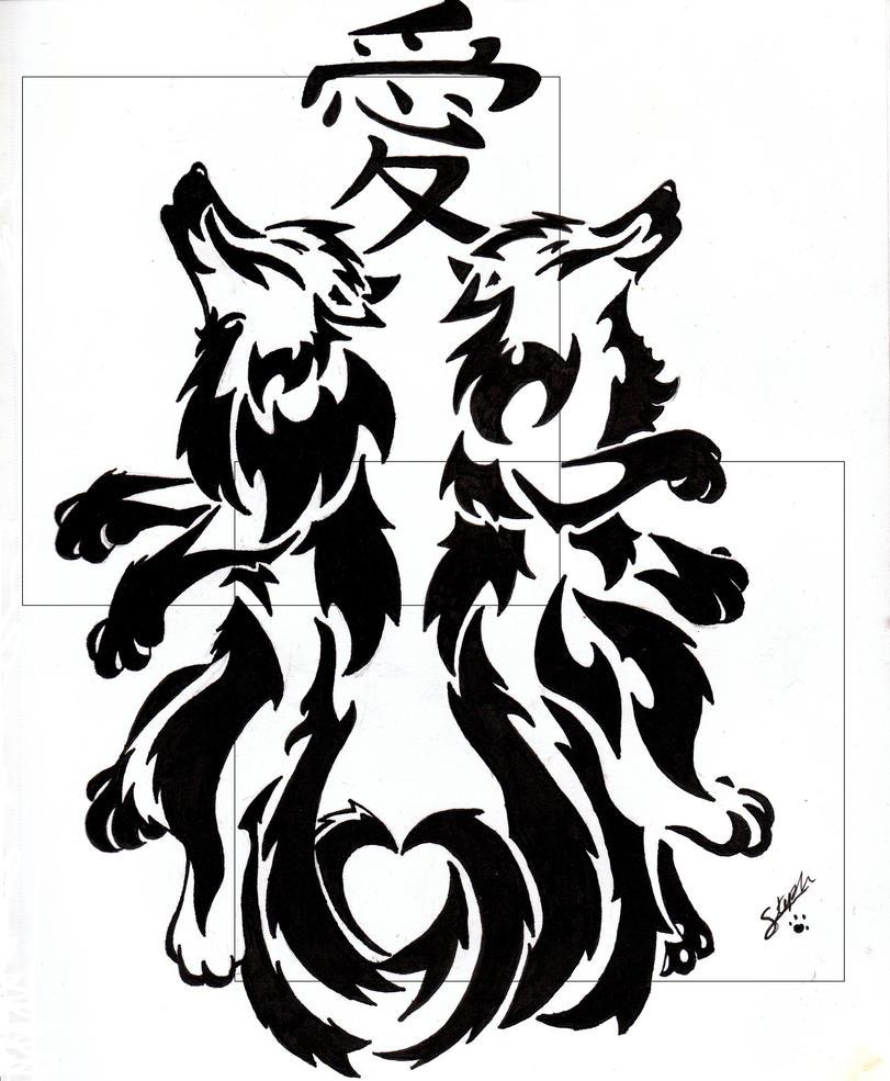 Tribal Wolf Wallpaper: Tribal Wolf Tattoo 2 By Troublestripe On DeviantArt