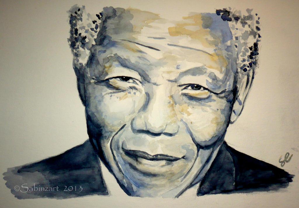 Mandela by Sabinzart