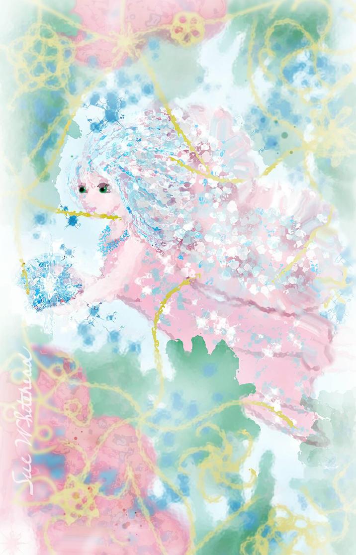 The Fairy  In My Garden  by Sue2BlueEyes