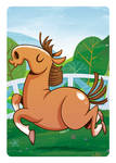 1, 2, 3 - Horse