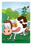 1, 2, 3 - Cow