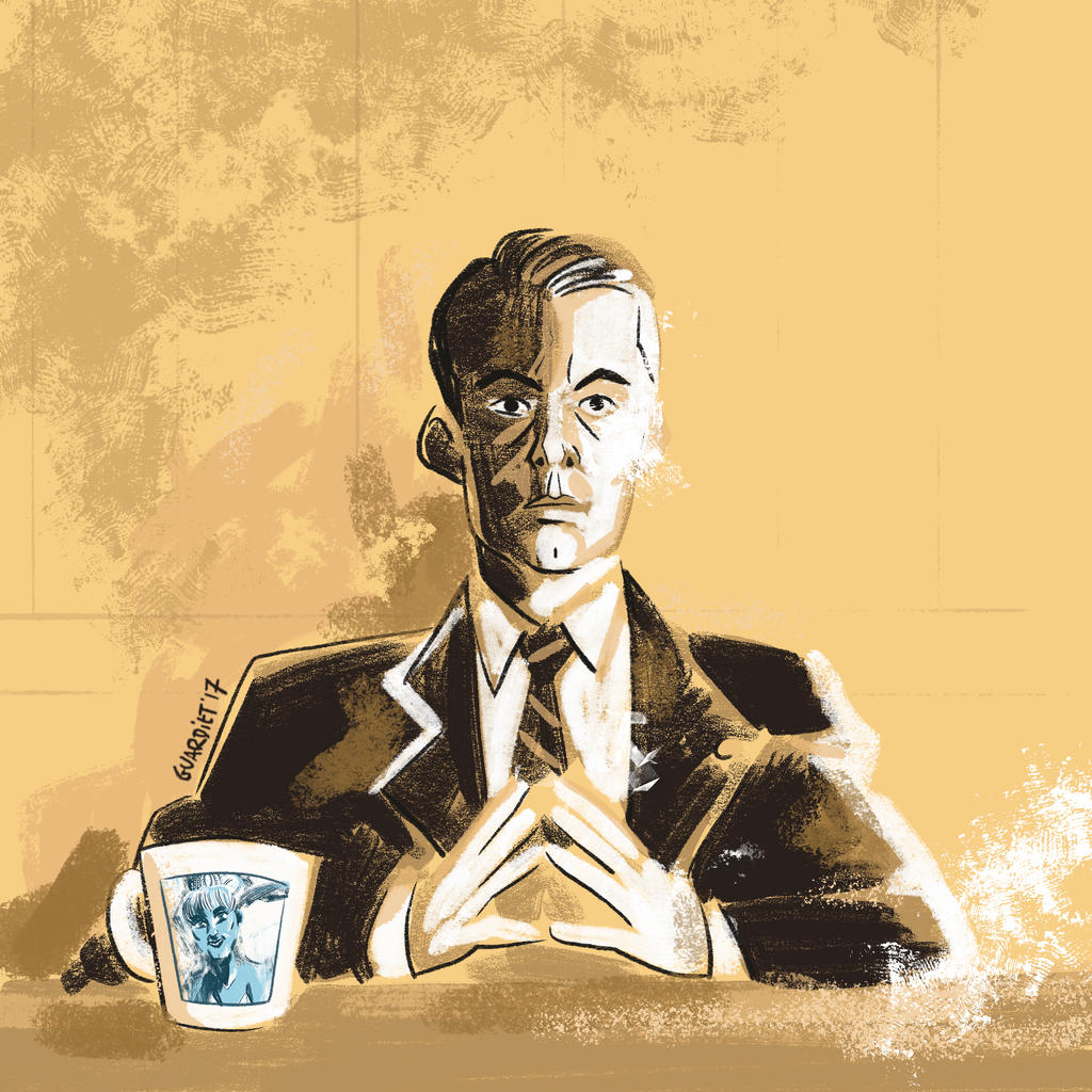Twin Peaks, Agent Cooper by JoanGuardiet