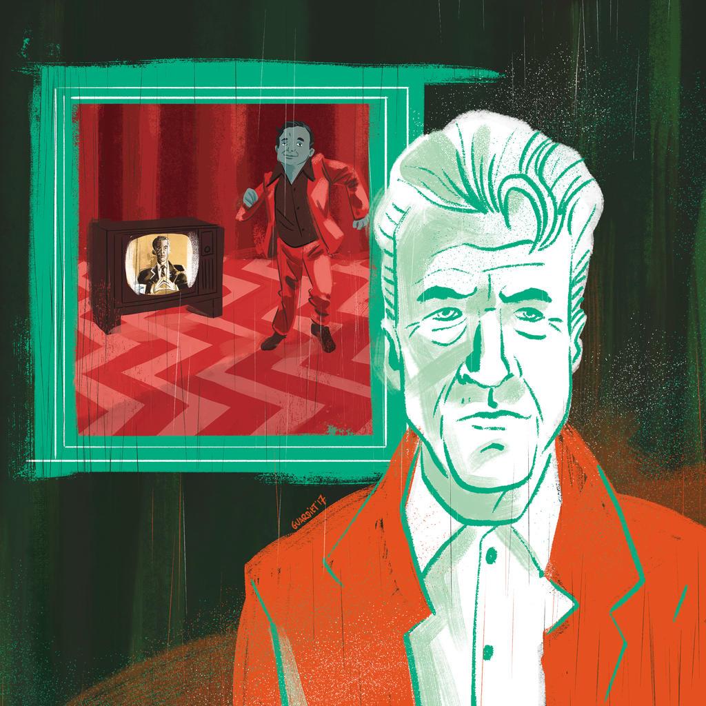Twin Peaks, David Lynch by JoanGuardiet