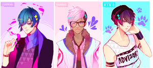 [LAINYKINS][IZUNEKO][KING] by txunnpae